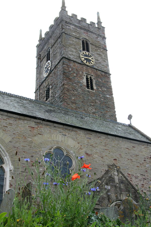 Angielski kościół zdjęcia royalty free
