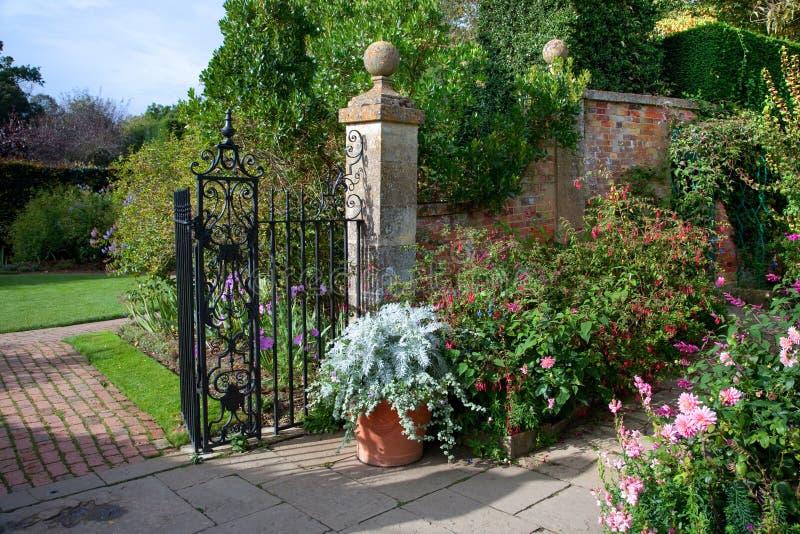 Angielski kraju ogród zdjęcia stock