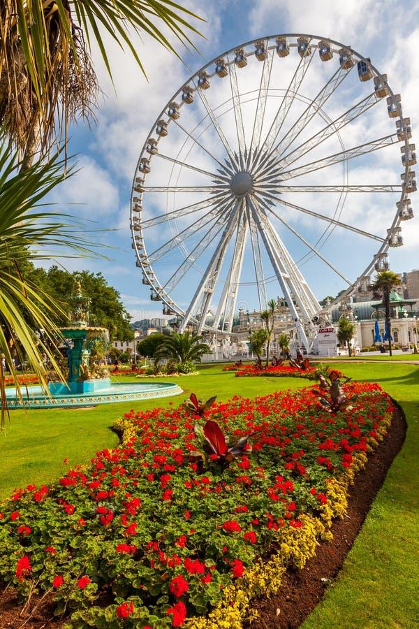 Angielski Riviera koło Torquay zdjęcia royalty free
