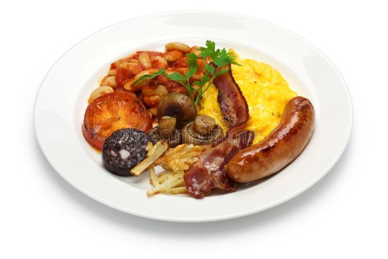 angielskie pełne śniadanie zdjęcie royalty free
