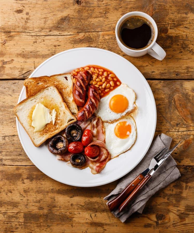 angielskie pełne śniadanie zdjęcia royalty free