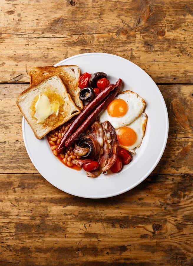angielskie pełne śniadanie fotografia royalty free