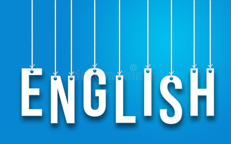 Angielszczyzny słowa pojęcie royalty ilustracja