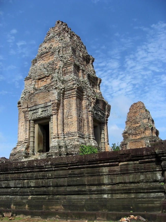 angkor结构wat 图库摄影