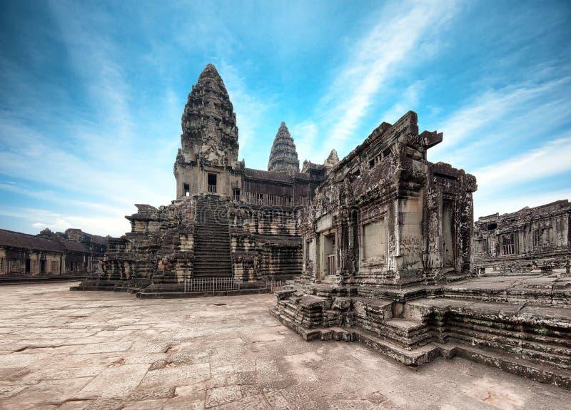 angkor Καμπότζη wat Khmer ναός Thom Angkor στοκ εικόνες με δικαίωμα ελεύθερης χρήσης