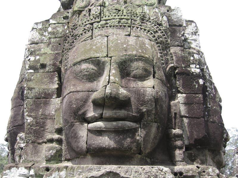 angkor высекая каменное wat стоковое изображение