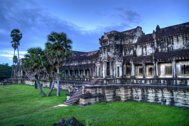 Angkor. Is a name conventionally applied to the region of Cambodia serving as the seat of the Khmer empire that flourished from approximately the ninth century stock images
