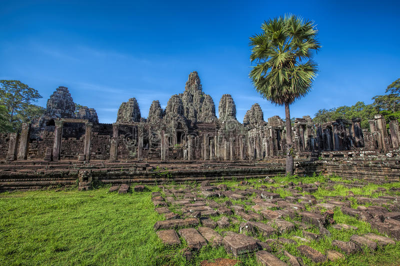 Angkor Archeologisch Park stock afbeelding