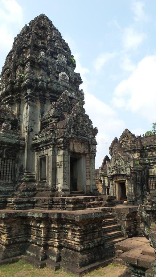 angkor Asia wśrodku wat Cambodia zdjęcia royalty free