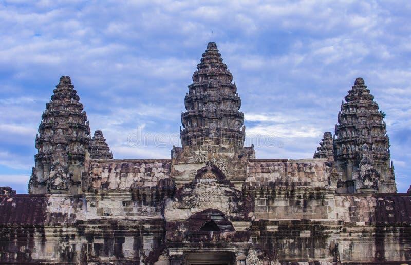 angkor Cambodia świątyni wat fotografia stock