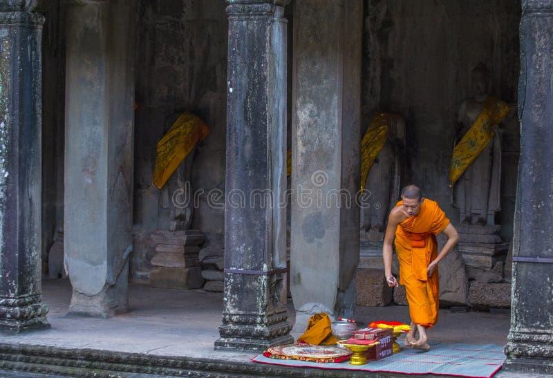 angkor Cambodia świątyni wat zdjęcia royalty free