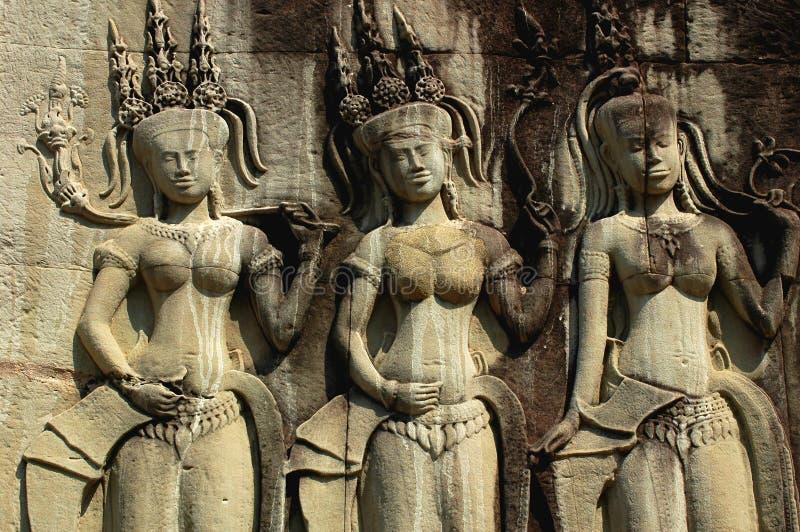 Angkor cambodia royalty free stock images