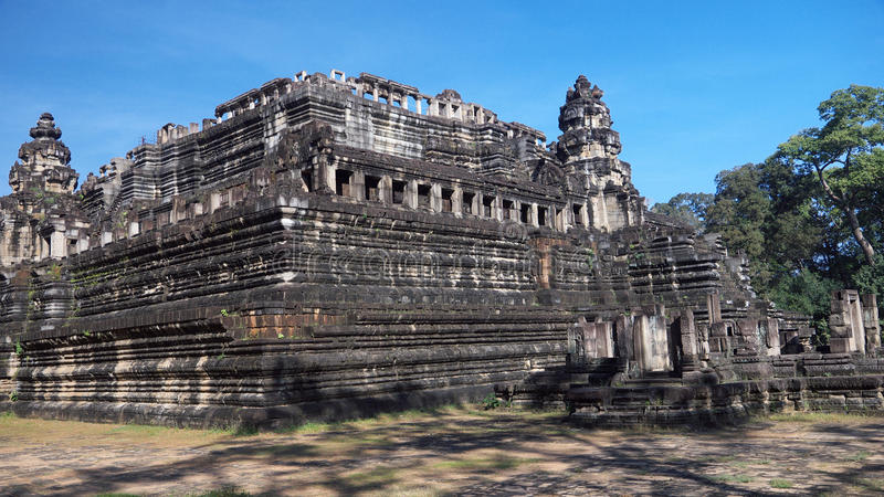 Angkor-Tempel 6 lizenzfreies stockbild