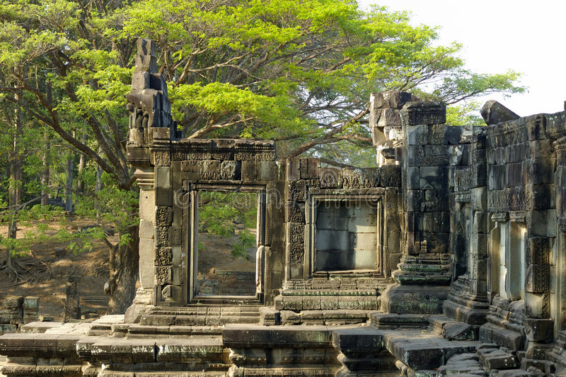 Angkor Temple royalty free stock images