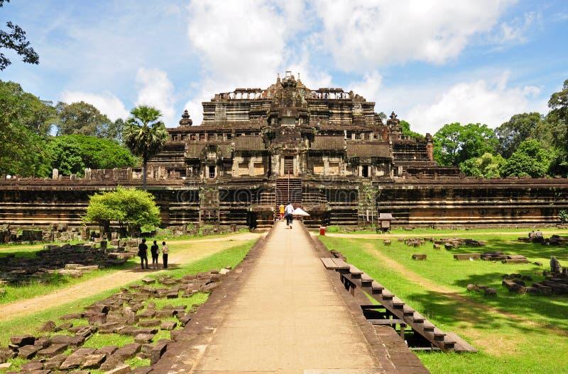Angkor Thom stock fotografie