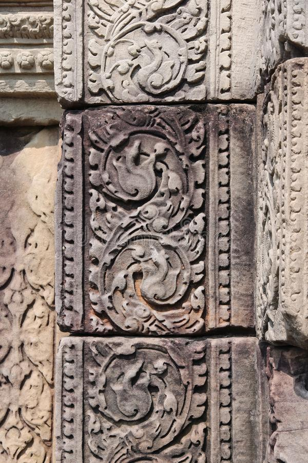 Angkor Thom imagenes de archivo