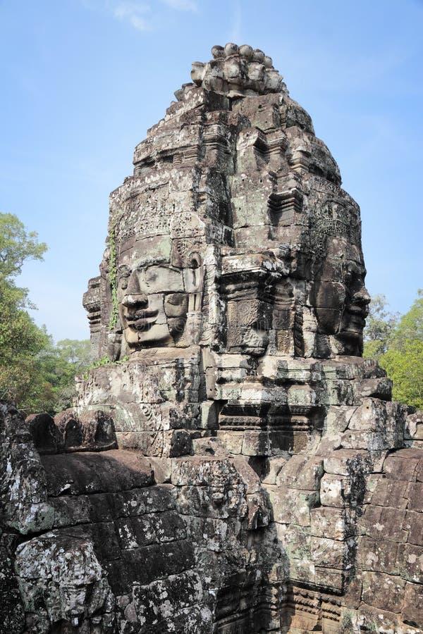 Angkor Thom fotografía de archivo libre de regalías