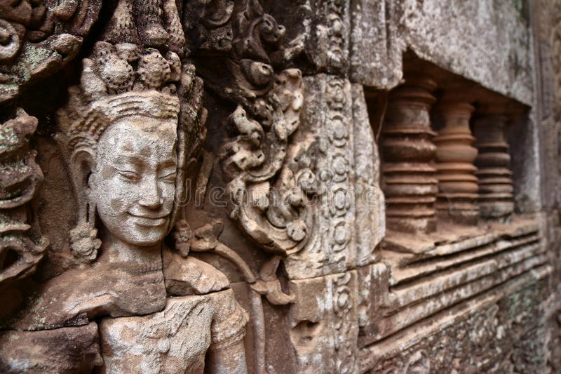 Angkor Thom, Angkor Wat fotografie stock