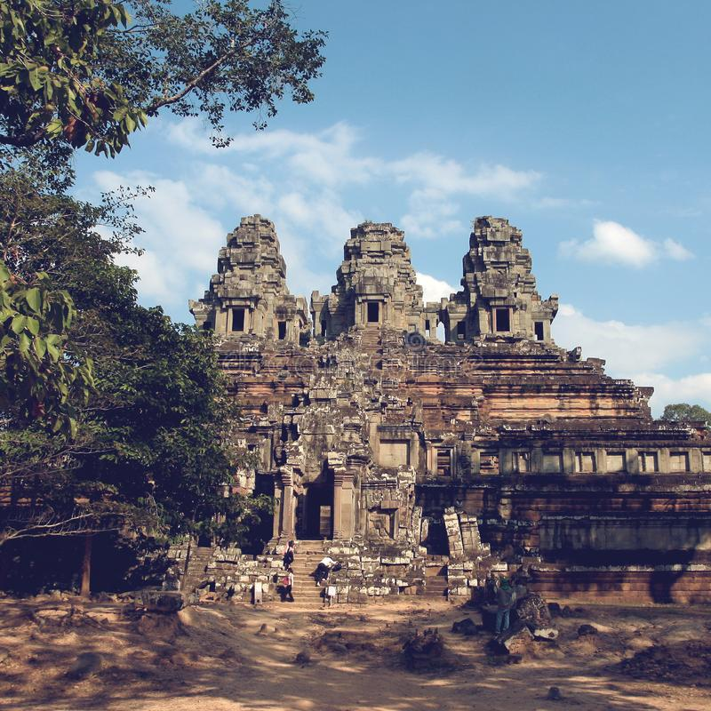 Angkor Thom in Cambodia royalty free stock photo