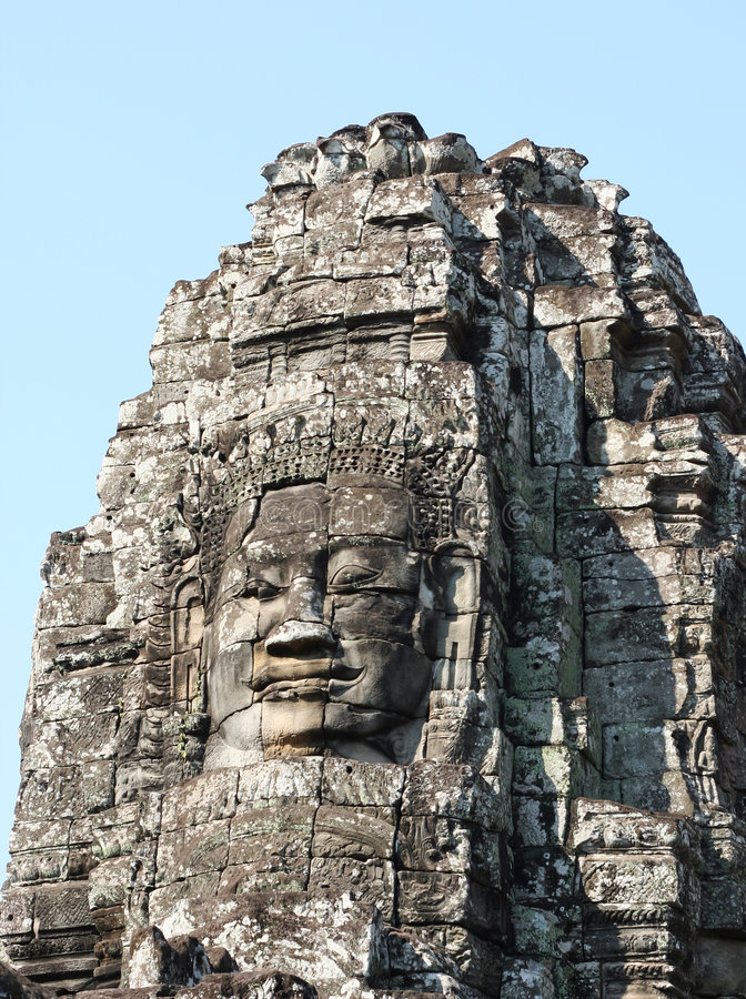 Download Angkor Thom, Cambodia: Bayon Stock Image - Image of angkor, cambodia: 6073011