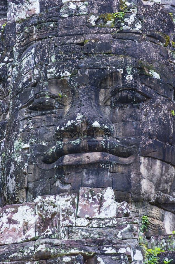 Angkor Thom Cambodja arkivfoto