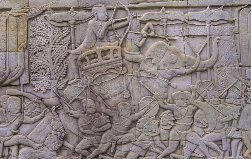 Angkor Thom Camboya imágenes de archivo libres de regalías