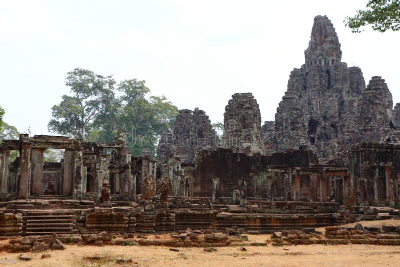 Angkor Thom royalty-vrije stock foto's
