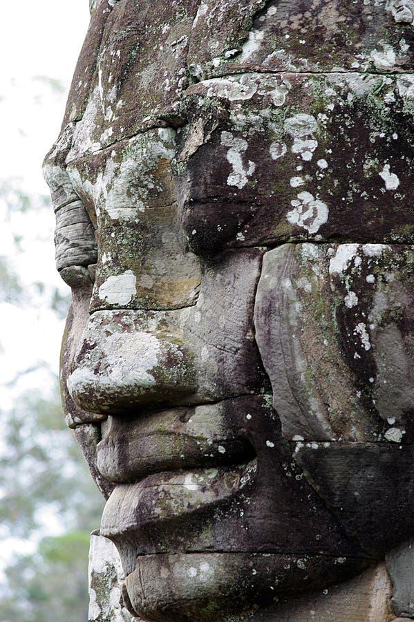 Angkor Thom I royaltyfria foton