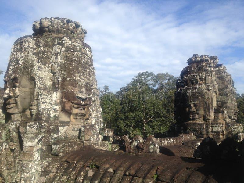 Angkor Thom Siem Reap, Camboja foto de stock
