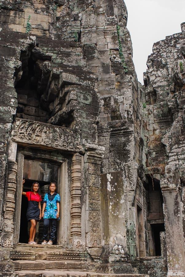 Angkor Thom, siemreap, Камбоджа стоковое изображение