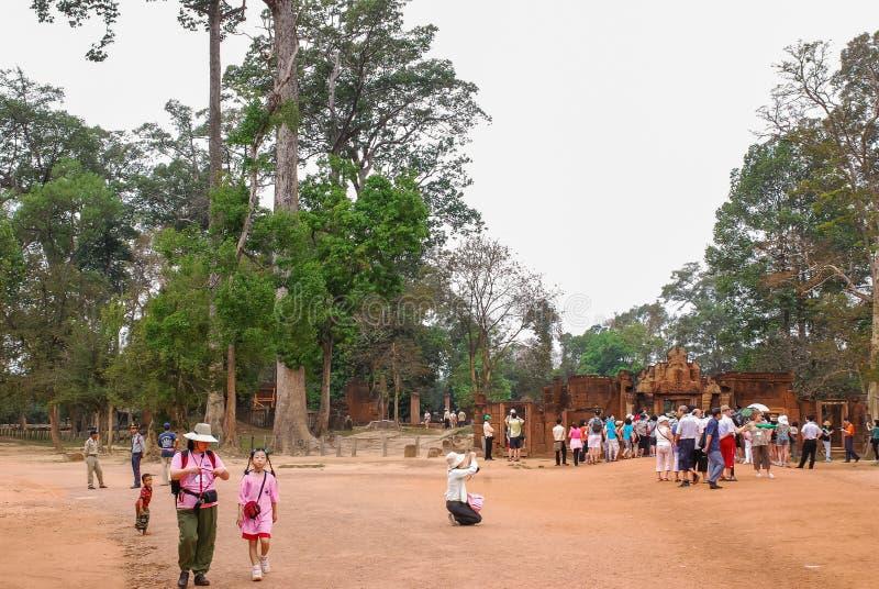Angkor Thom, siemreap, Камбоджа стоковые изображения