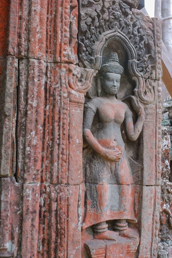 Angkor Thom, siemreap, Cambodge images libres de droits