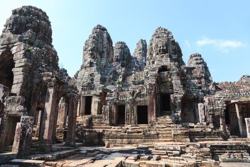 Angkor Thom siemreap, Kambodja royaltyfri foto