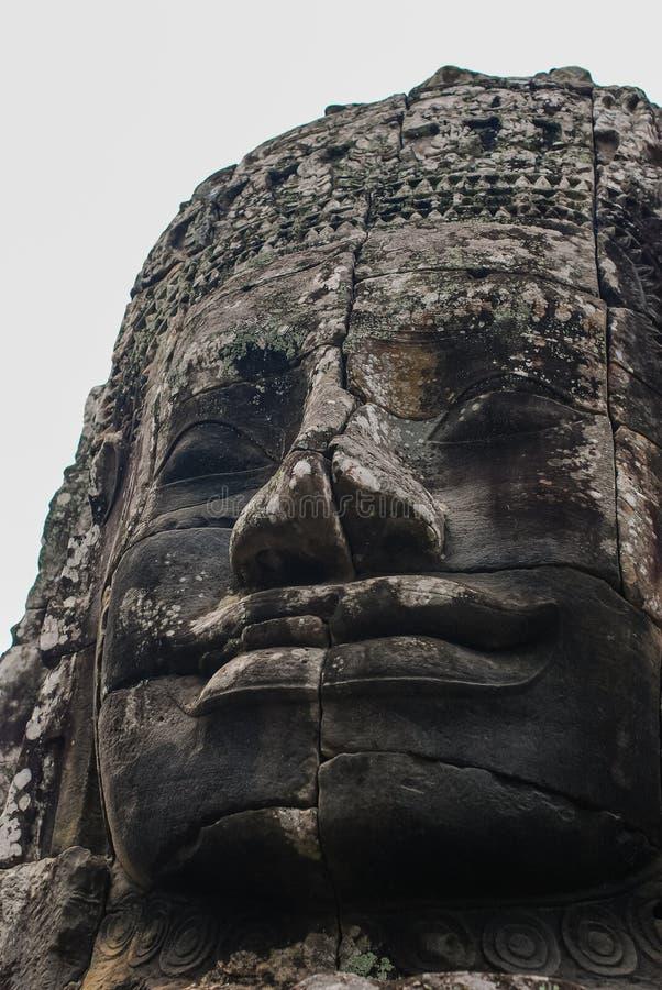 Angkor Thom siemreap, Kambodja arkivfoto