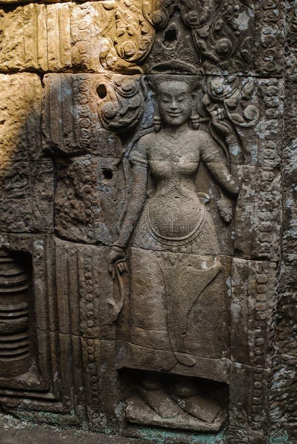 Angkor Thom siemreap, Kambodja fotografering för bildbyråer