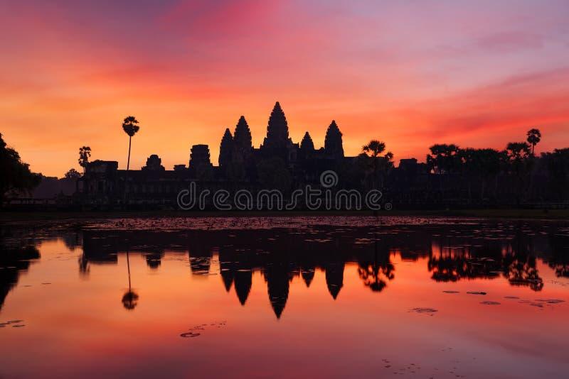 Angkor Vat, Cambodge images stock