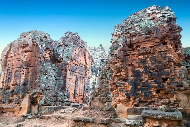 Download Angkor Vat, Complexe De Temple De Khmer, Asie Siem Reap, Cambodge Photo stock - Image du histoire, architectural: 56476554