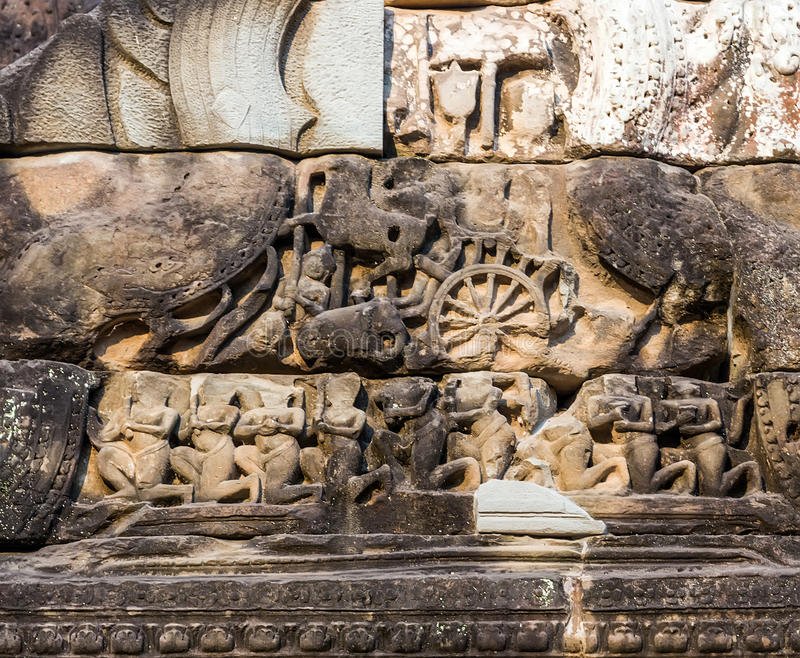 Download Angkor Vat, Complexe De Temple De Khmer, Asie Siem Reap, Cambodge Photo stock - Image du indochine, architectural: 56476562