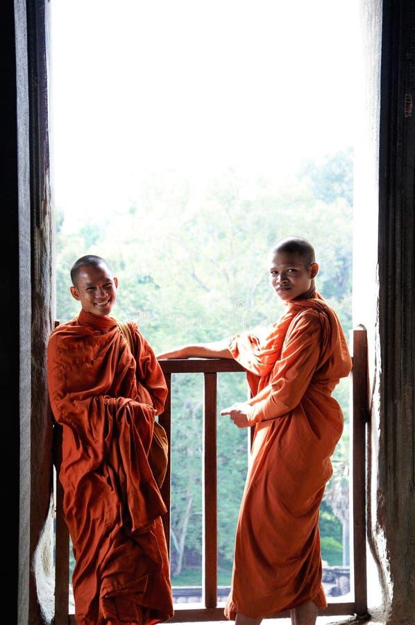 Angkor Vat, complexe géant de temple hindou de Cambodiaa au Cambodge, consacré au dieu Vishnu images libres de droits