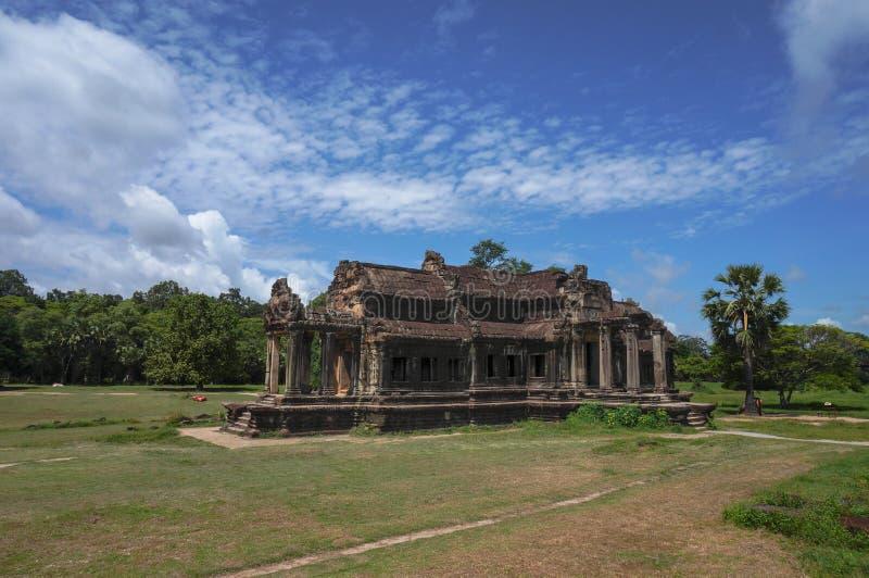 Angkor Vat est un site de patrimoine mondial de l'UNESCO depuis 1992 Célèbre pour lui procédé de construction du ` s et peintures images stock