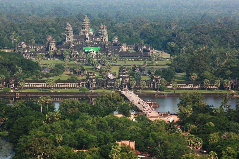 Angkor Vat au Cambodge photos stock
