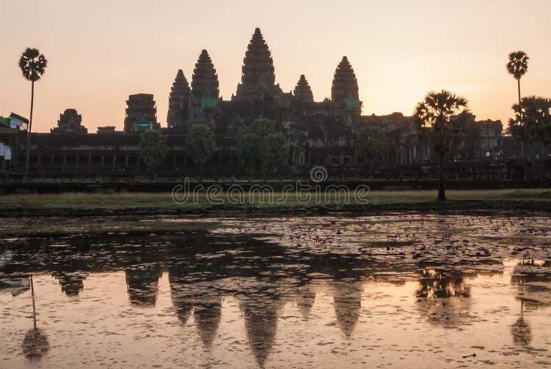 Angkor Vat, Siemreap, Cambodge image libre de droits