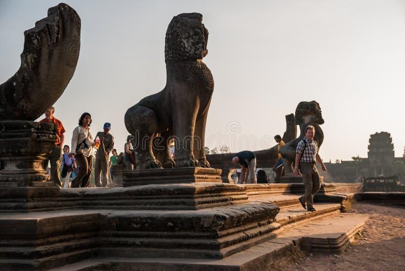 Angkor Vat, Siemreap, Cambodge photographie stock