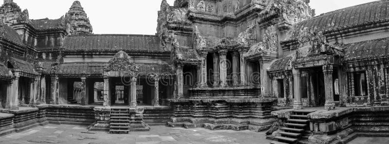 Angkor Vat - temple de Khmer dans la province de Siem Reap, Cambodge, sud photographie stock