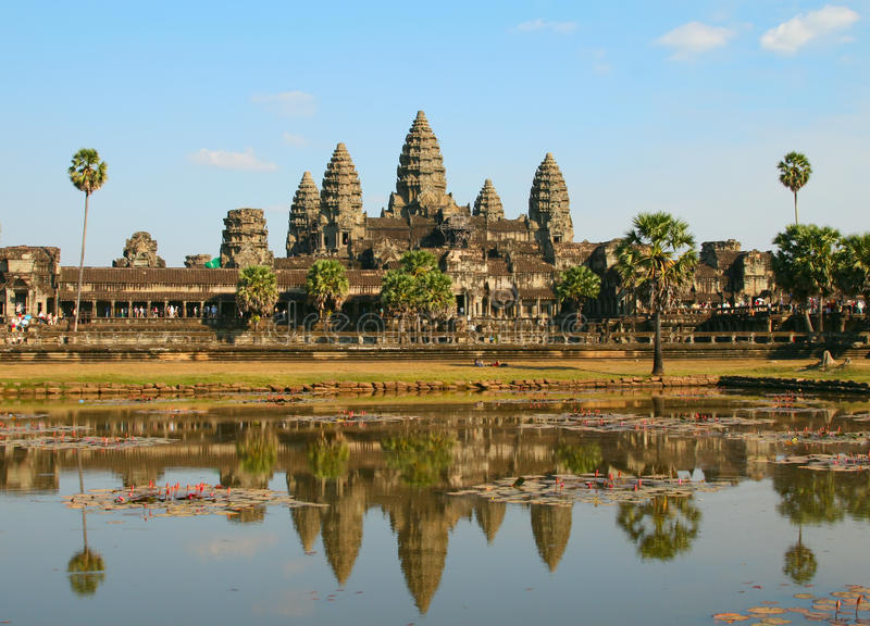 Angkor Wat photographie stock