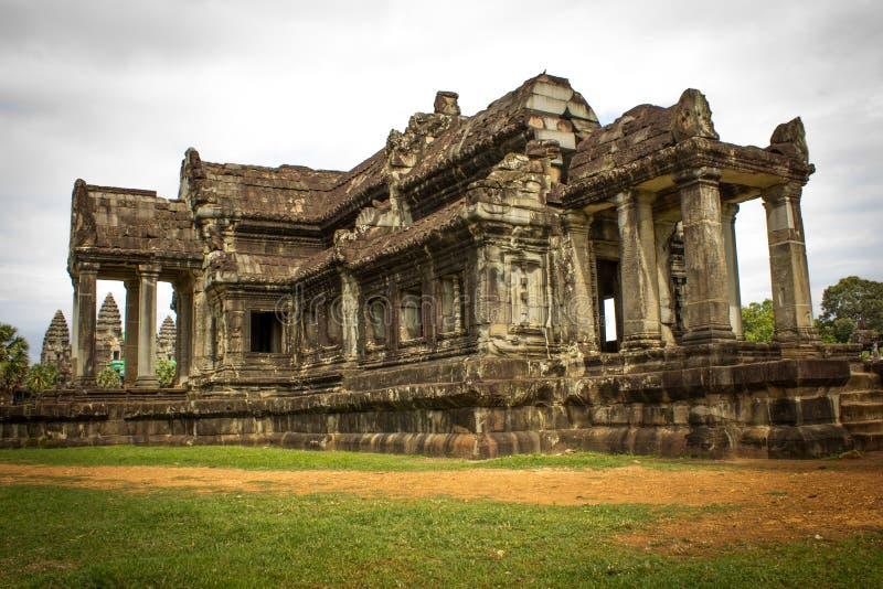 Angkor Wat 免版税库存图片