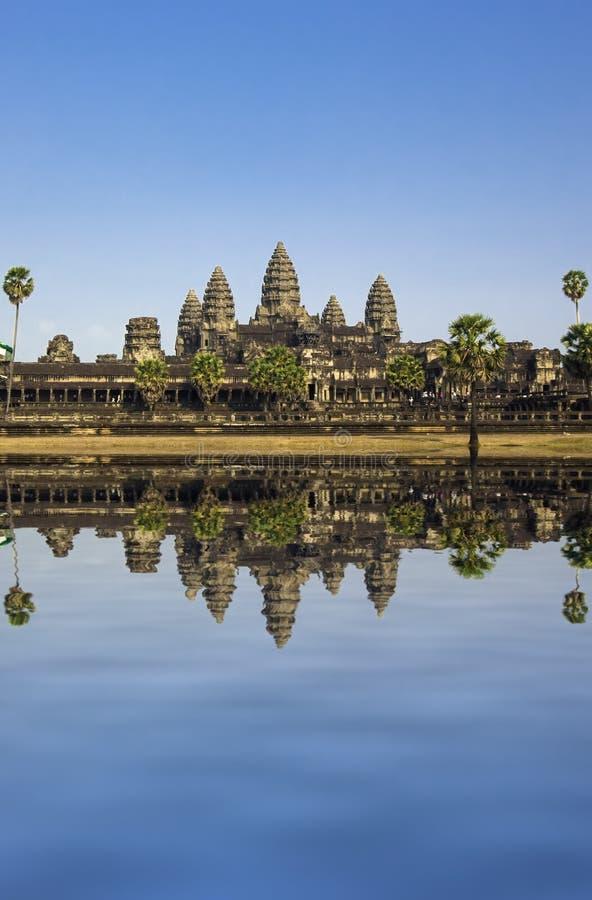 Angkor wat lizenzfreie stockfotografie