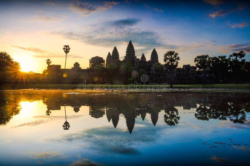 Angkor Wat royalty-vrije stock afbeelding