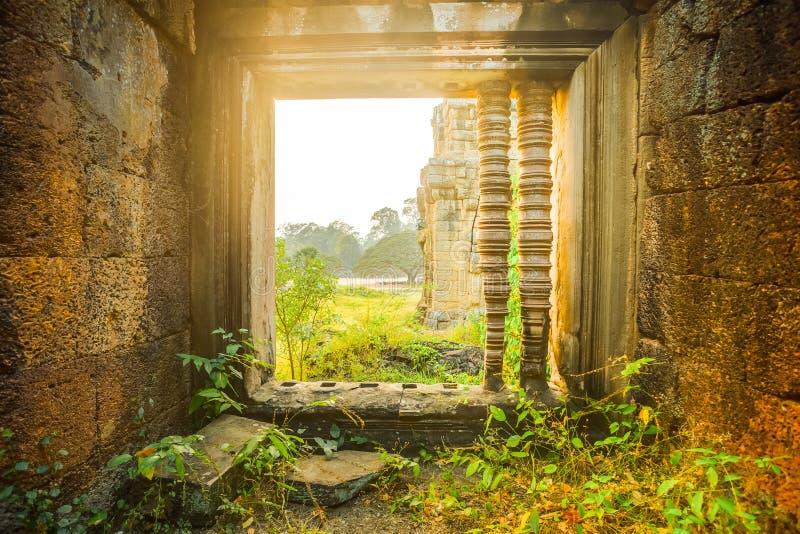 Angkor Wat Arquitetura antiga fotos de stock