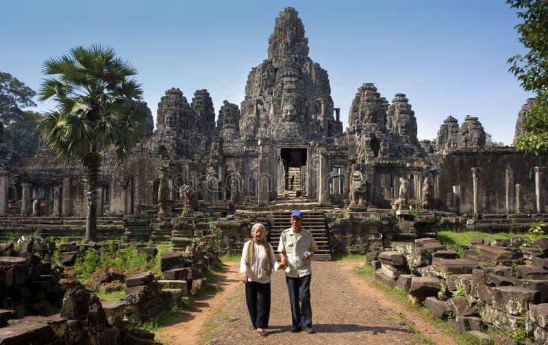 Angkor Wat - Bayon Temple - Cambodia Editorial Photography